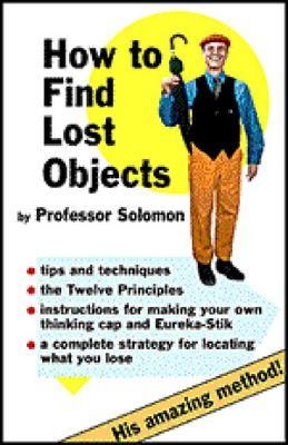 Product picture How to Find Lost Objects Free Ebook